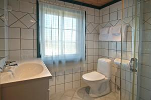 Vi har flotte ny-oppussede bad på mange av rommene våre.